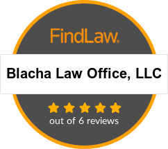 Blacha Law Office, LLC Attorney Rating Badge. 5.0 out of 6 reviews.