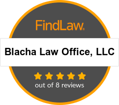Blacha Law Office, LLC Attorney Rating Badge. 5.0 out of 8 reviews.