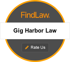 Gig Harbor Law Attorney Rating Badge. 4.5 out of 4 reviews.